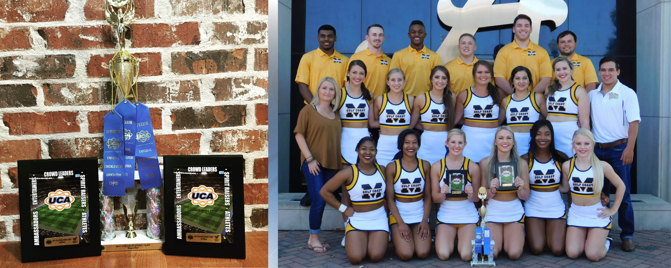 MGCCC Cheer shines at UCA camp