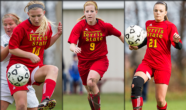 Three Women's Soccer Players Named To All-GLIAC Team; Two First-Team Picks