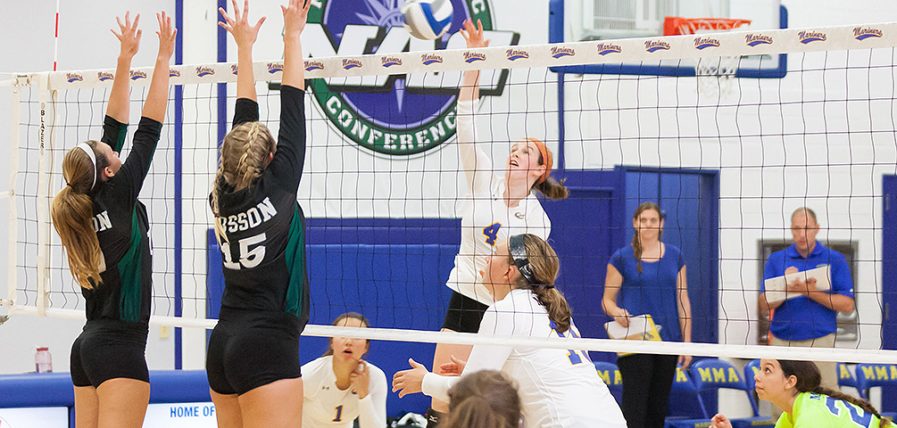 Maine Maritime Dominates Husson in 3-0 Victory