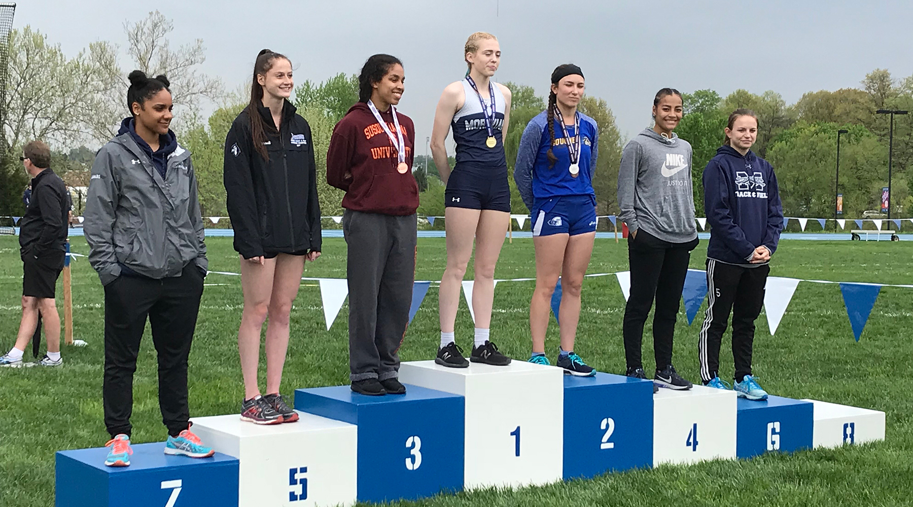 Gallina Nabs All-Landmark Conference Honors to Lead Track & Field on Final Day of Landmark Championships