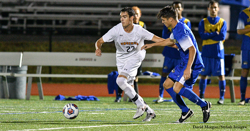 Men's Soccer Plays Giants to Draw