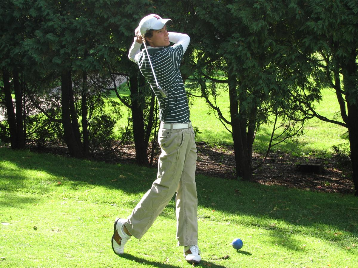 Beloin Leads CCSU in Opening Day of Cornell Golf Invite