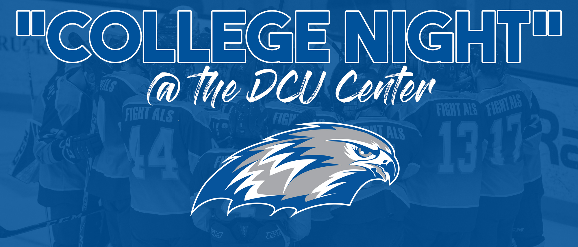 "Becker Men's Ice Hockey to Play at DCU Center as Part of Railers' ""College Night"""
