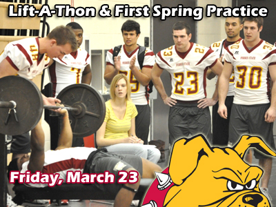 FSU Lift-A-Thon & First Spring Practice March 23