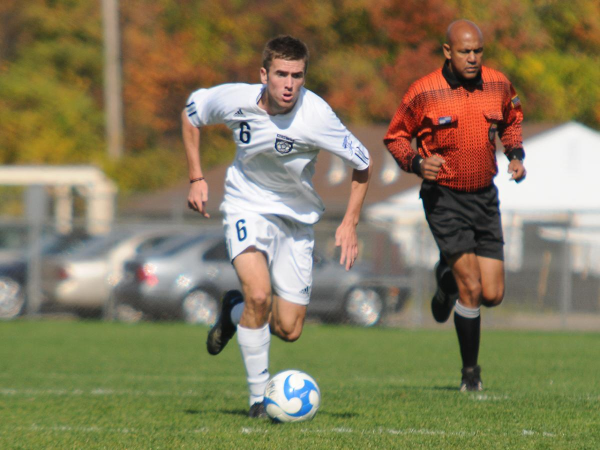 Men's Soccer Plays St. Francis (NY) to a 2-2 Draw