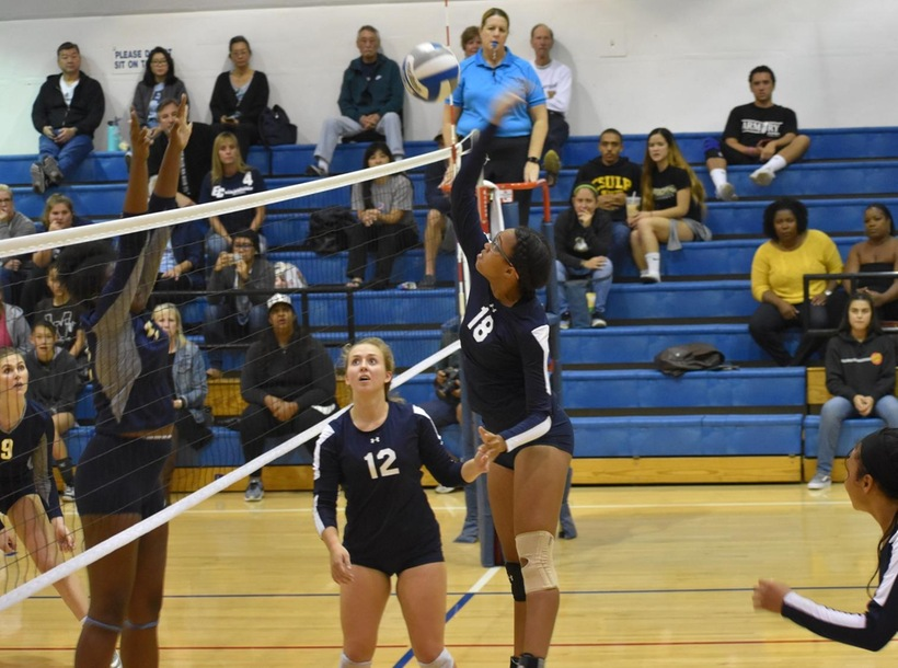 Warriors Clinch Share of South Coast Conference Title with Sweep over Harbor