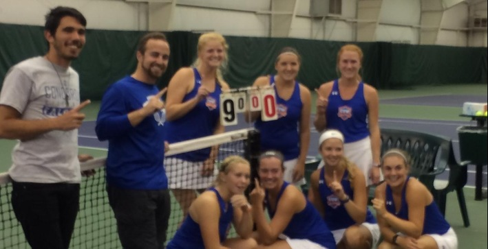 Women's Tennis capture NACC title outright