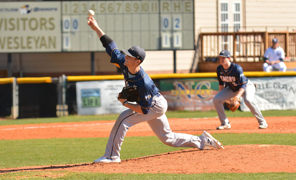 Emory Baseball Falls to #14 Birmingham-Southern on the Road