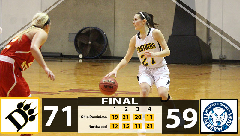 Defense Shines As Women's Basketball Powers Past Northwood, 71-59