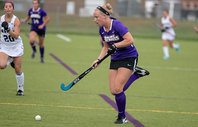Johnston Nets Pair, Field Hockey Blanks Southern Connecticut State, 2-0