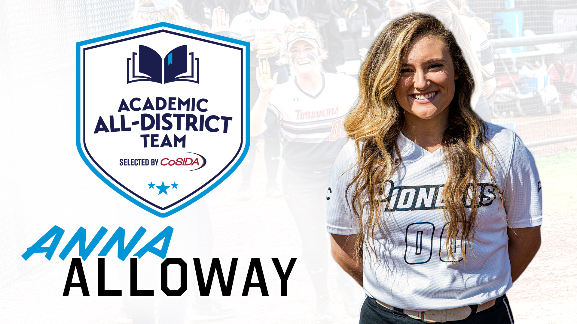 Alloway earns Academic All-District honors