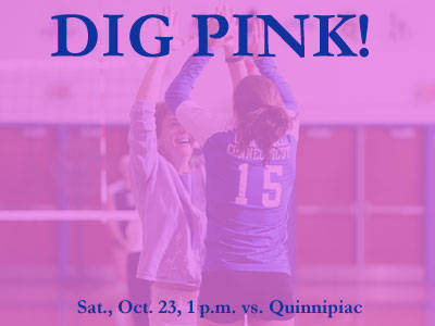Central Connecticut Volleyball to Host Dig Pink! Event on Saturday, Oct. 23rd