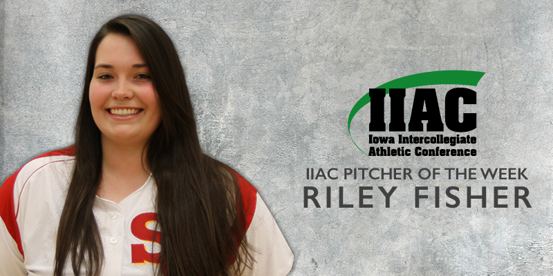 Fisher named IIAC Pitcher of the Week