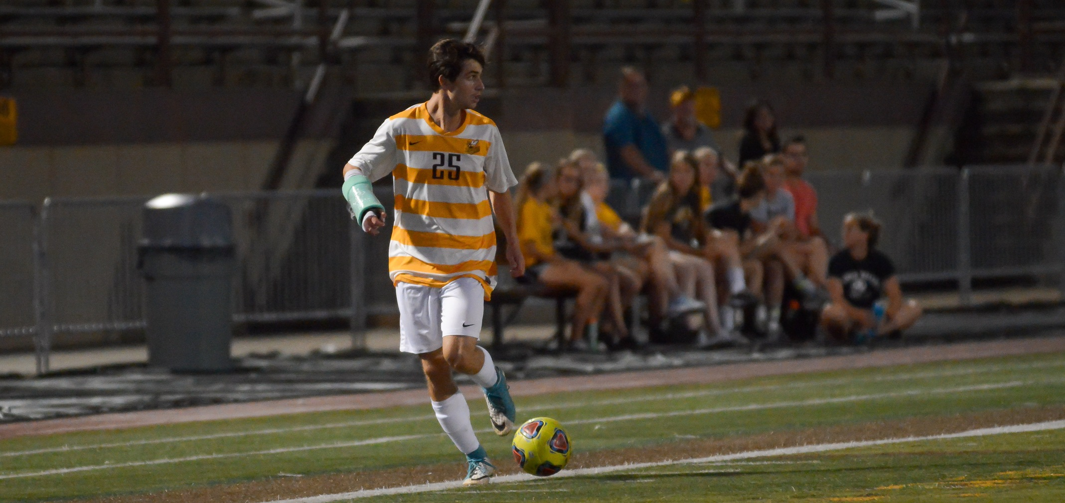 Junior All-OAC forward Danny Ruple scored both BW goals in a 3-2 loss to Houghton (N.Y.)