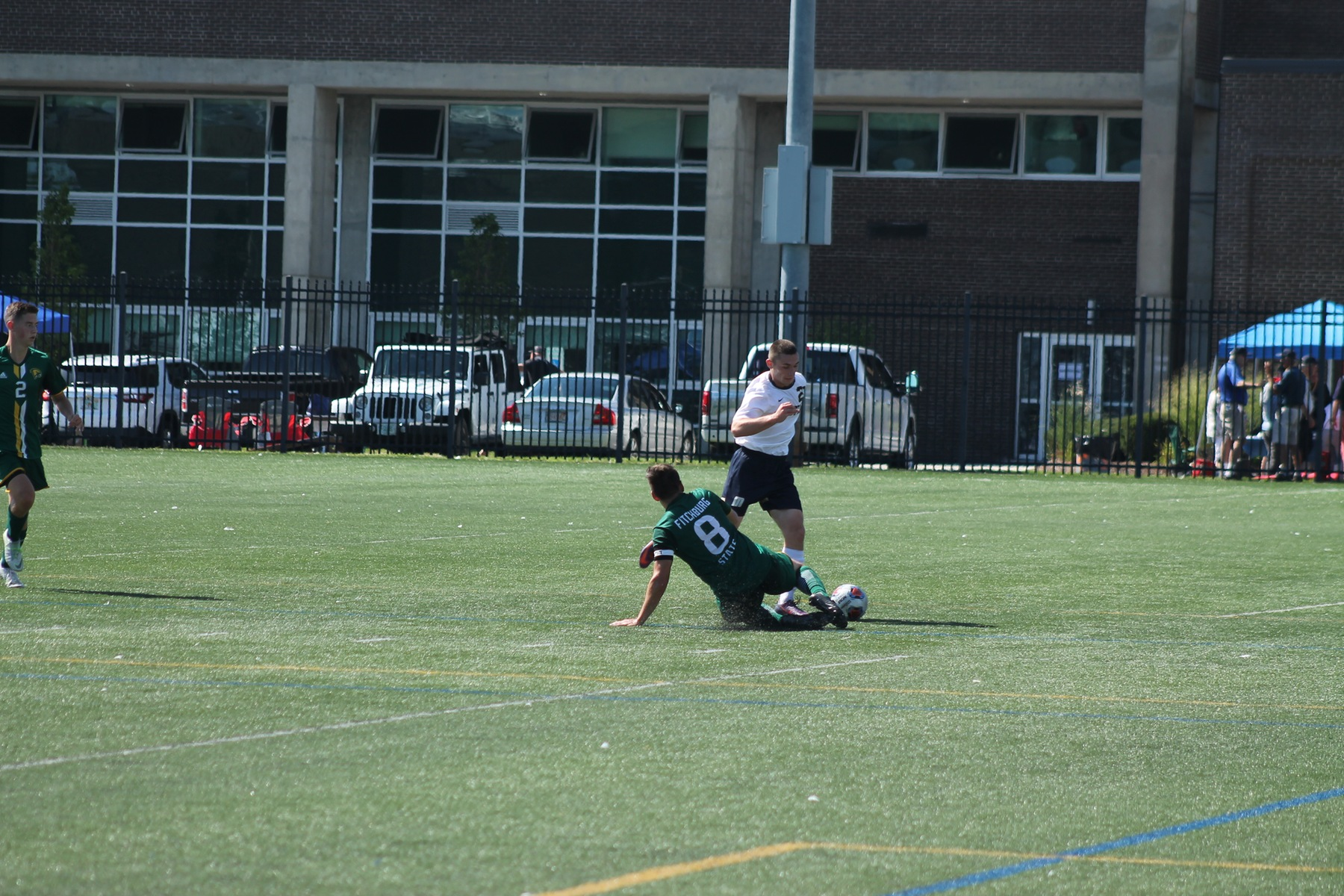 Cooks Second Goal Pushes Maritime Past Dartmouth in Double Overtime