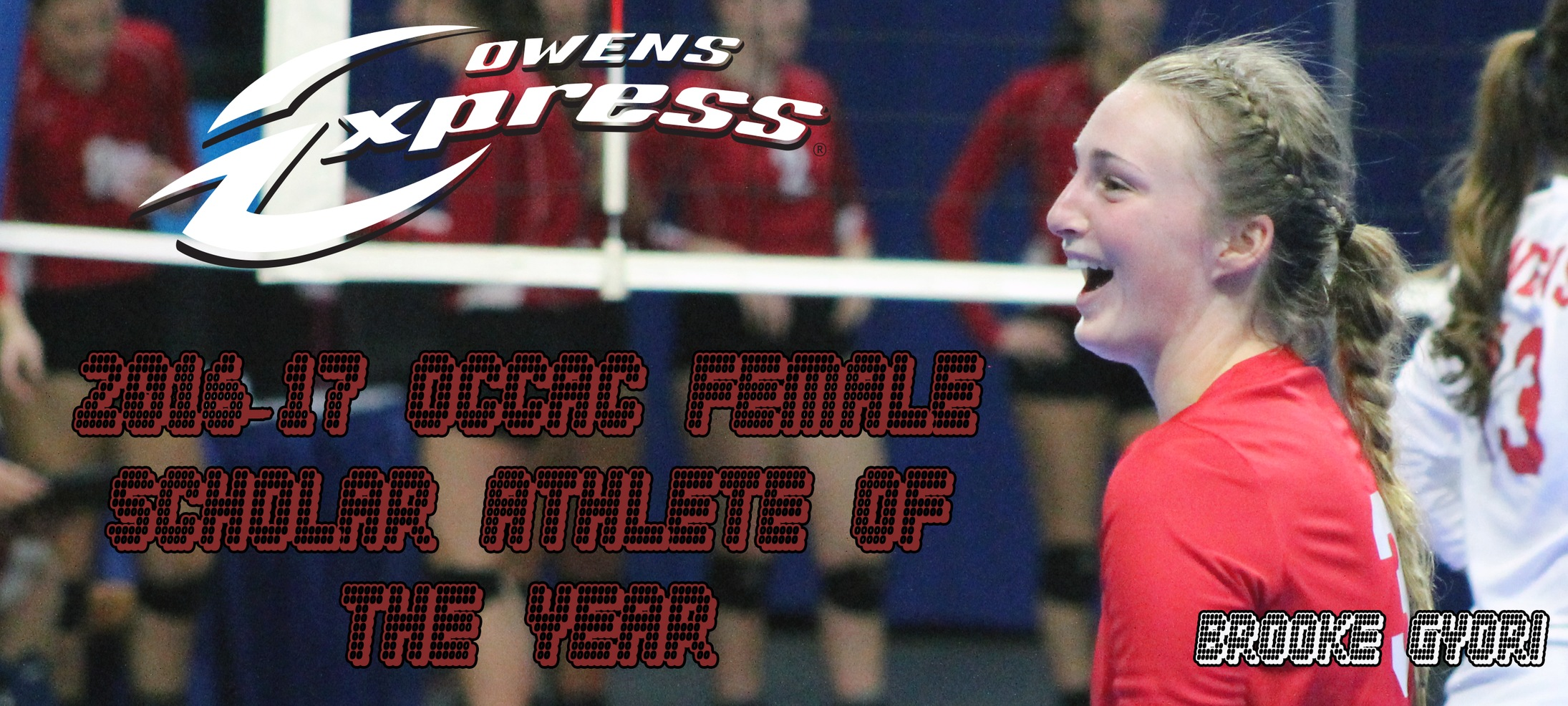 Gyori Named the OCCAC's Female Scholar-Athlete of the Year