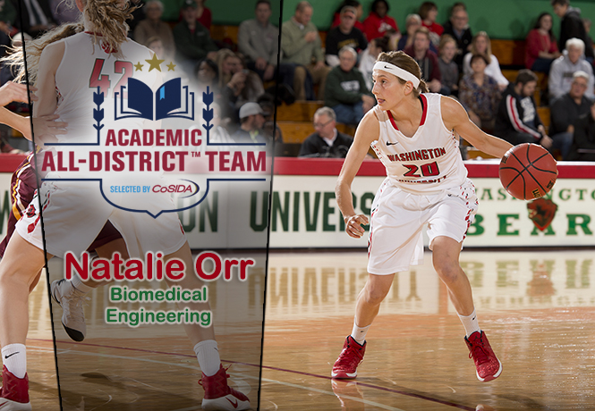 Wagner Earns Academic All-District Honors