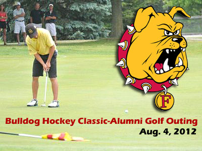 Bulldog Hockey Alumni Golf Outing Aug. 4