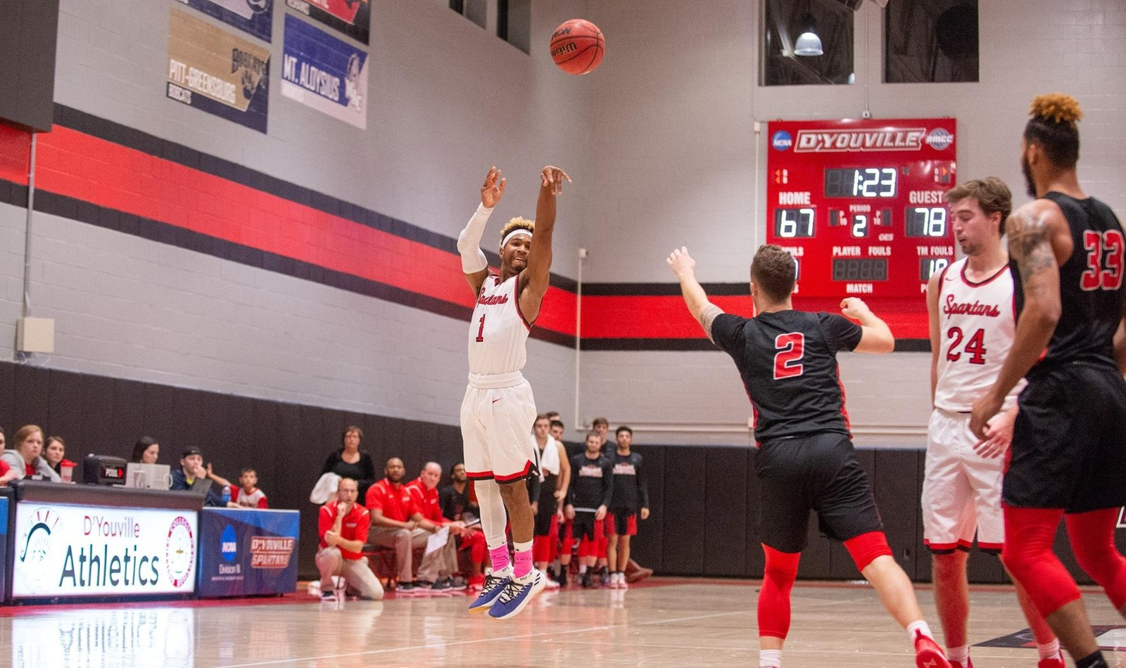 Lions Get Revenge as Men's Basketball Falls to Behrend