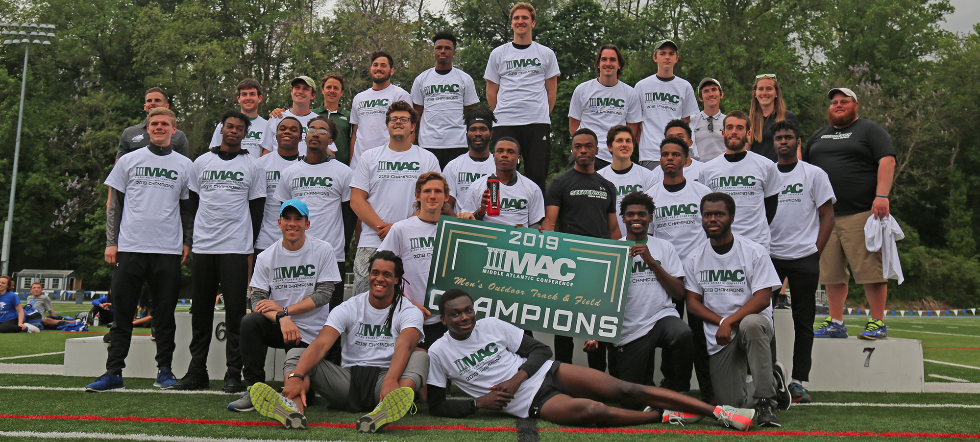 Mustangs Win Second-Straight MAC Outdoor Title, Belser Repeats as 100, 200 Meter Champion