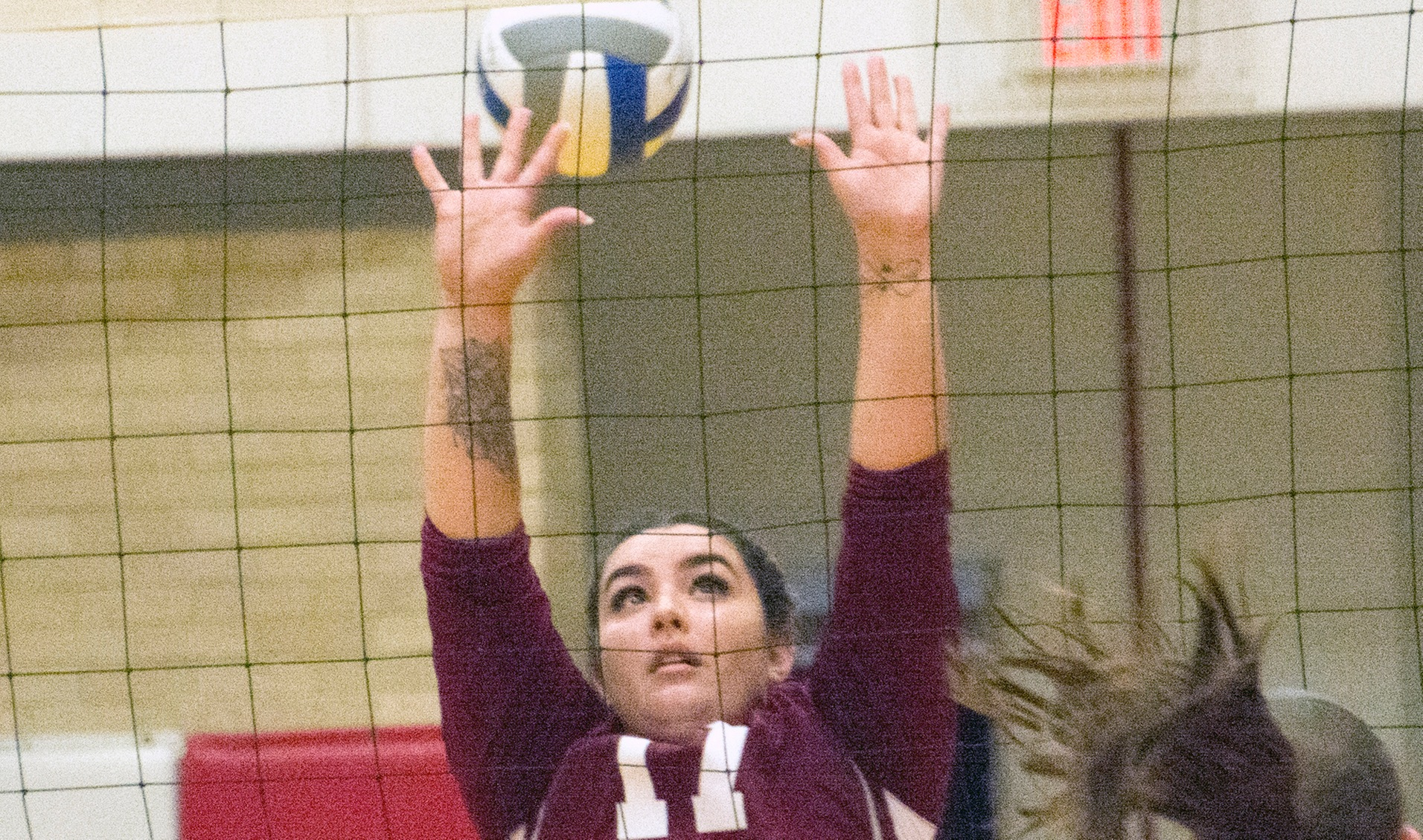 WOMEN'S VOLLEYBALL:  Anna Maria drops match at Rhode Island College