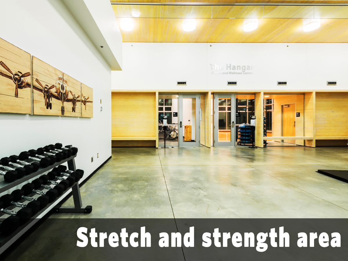 Stretch and strength area