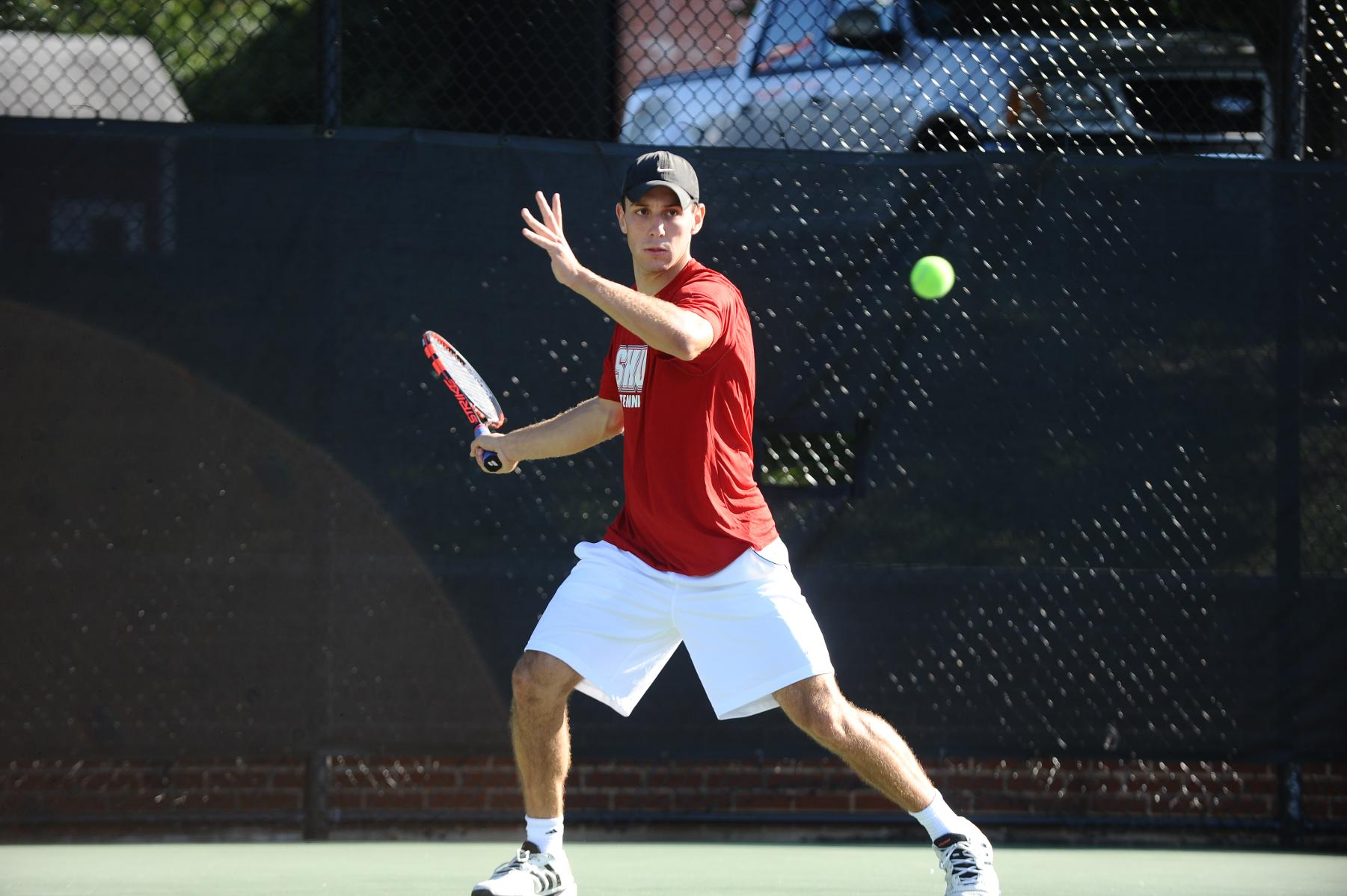 Men's Tennis Drops Heartbreaker in NEC Quarterfinals