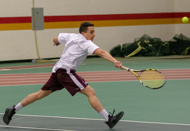 Men's Tennis: Norwich marches past NVU-Johnson, 9-0