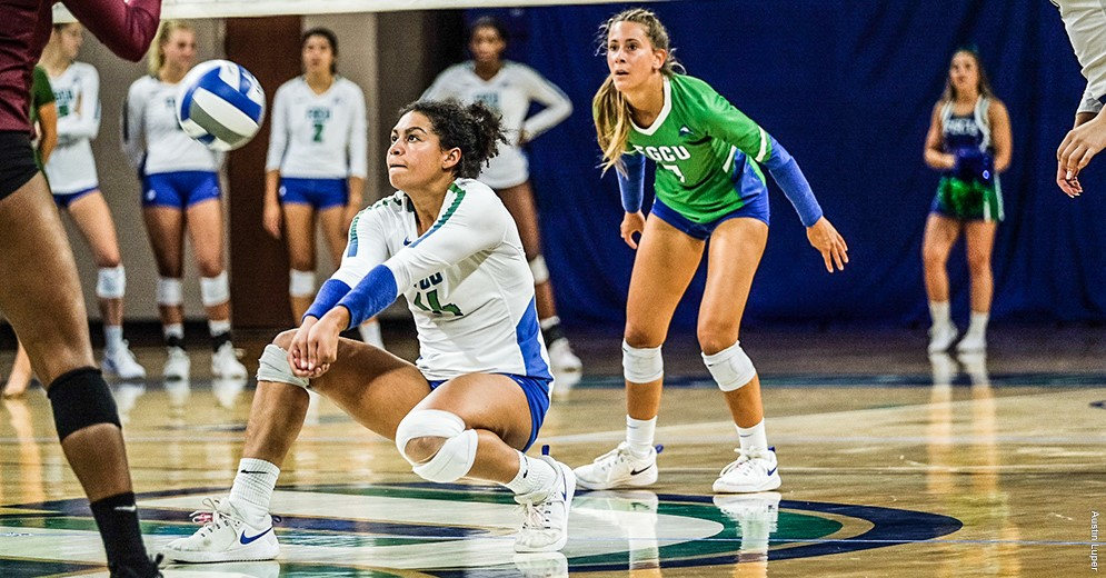 Axner, Carroll highlight FGCU's sweep of Bethune-Cookman