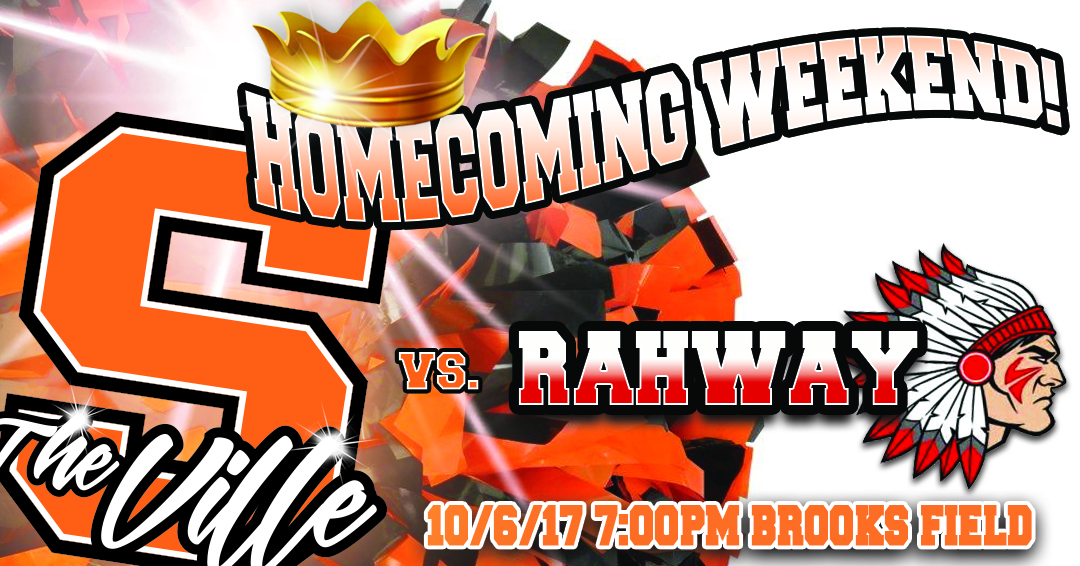 Rahway Visits on Homecoming Night at Brooks Field