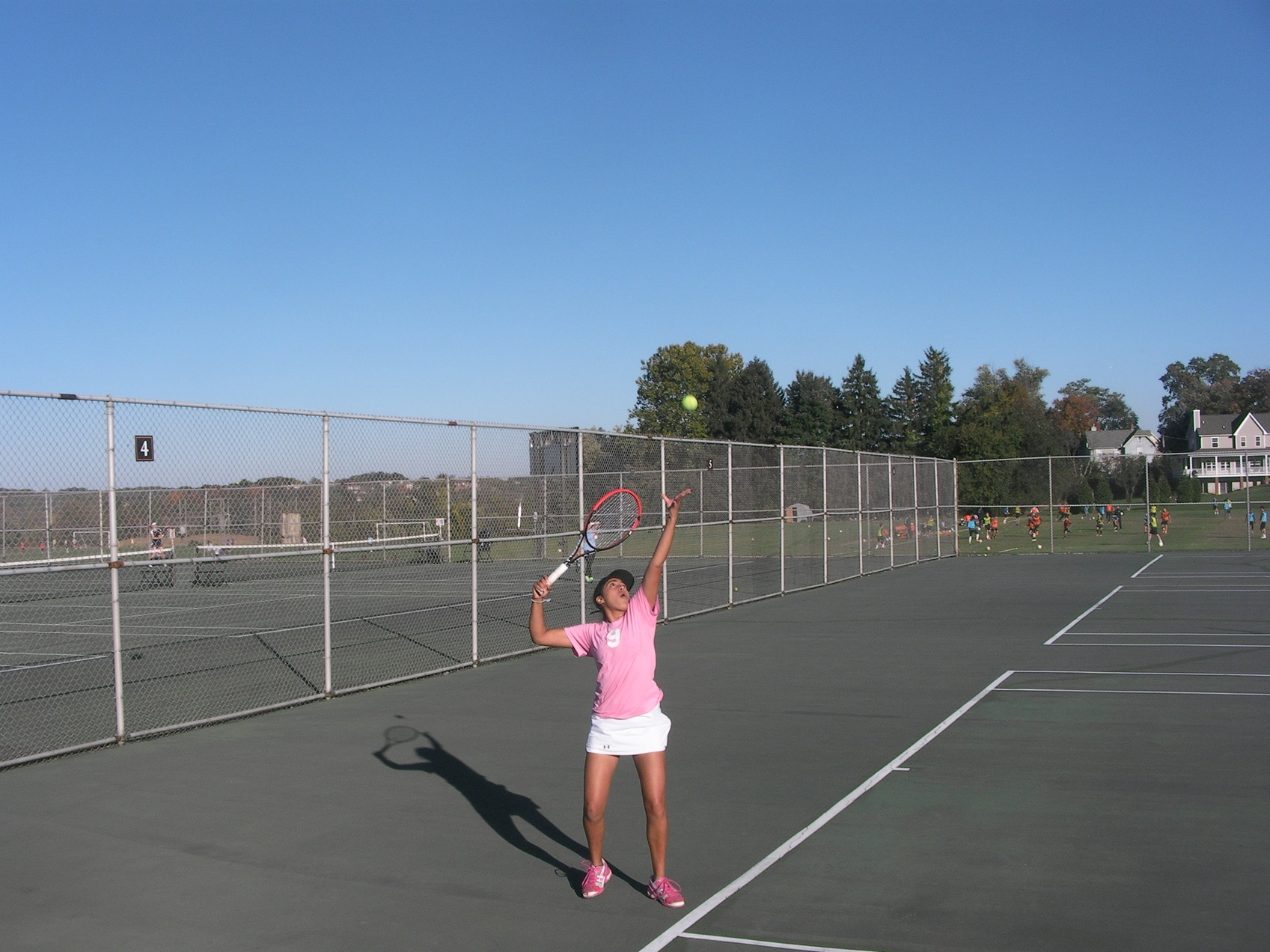 Tennis gets into full swing