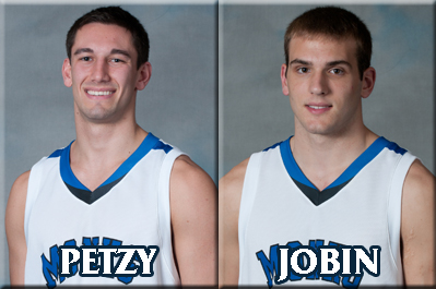 Petzy & Jobin Honored, Monks Ranked Second in Maine