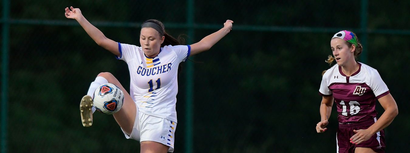 Goucher Women's Soccer Drops Match At Catholic, 1-0