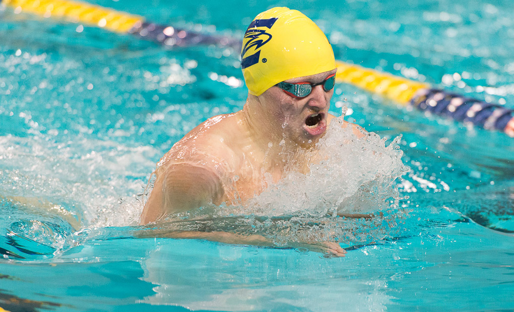 Men's Swimming & Diving Win Three Events on Saturday - Take Second at Denison Invite
