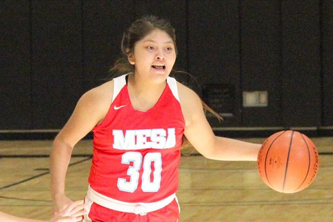Begay Nets 28, Leads Mesa to Spirited Victory at Phoenix College, 78-53