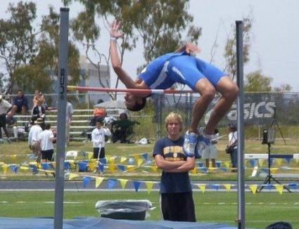 Haag Wins High Jump at Bryan Clay Invite