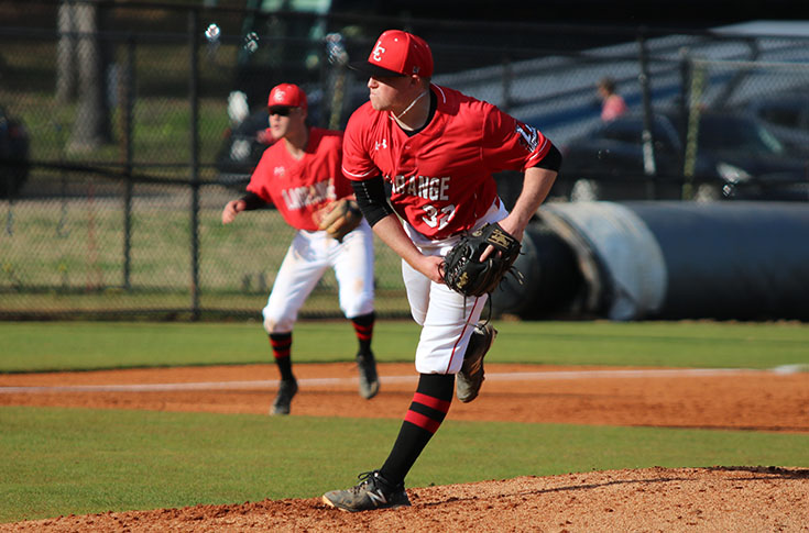 Baseball: Austin Fain named USA South Pitcher of the Year; LC places six on all-conference teams