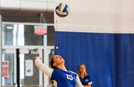 Women's Volleyball Finishes Final Regular Season Tournament with 1-2 Showing at SUNY Cobleskill