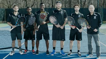 Men's tennis puts forth valiant effort, but Knights fall just short of second consecutive HVIAC crown, falling to CIA 5-4 in title match on Sunday