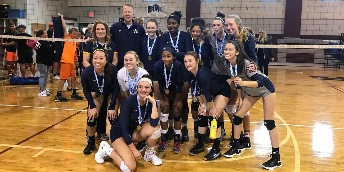 AACS volleyball tops in tourney