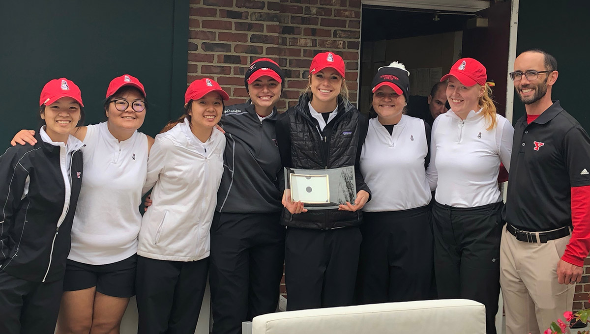 YSU Women's Golf won the University of Dayton Fall Invitational on Tuesday.