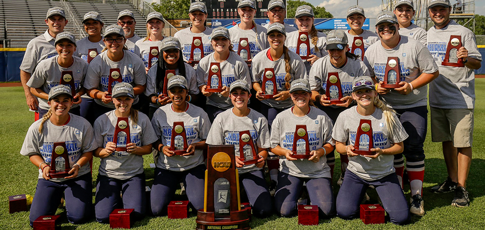 NATIONAL CHAMPIONS!!! Softball Wins First Championship with 1-0 Win