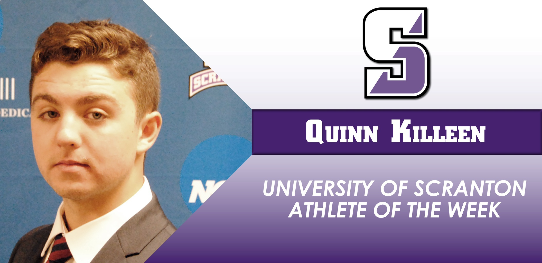 Killeen Named University of Scranton Athlete Of The Week