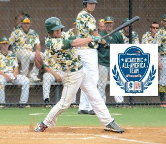 Joe Petosa is Felician's third two-time Academic All-American. (Steven R. Smith)