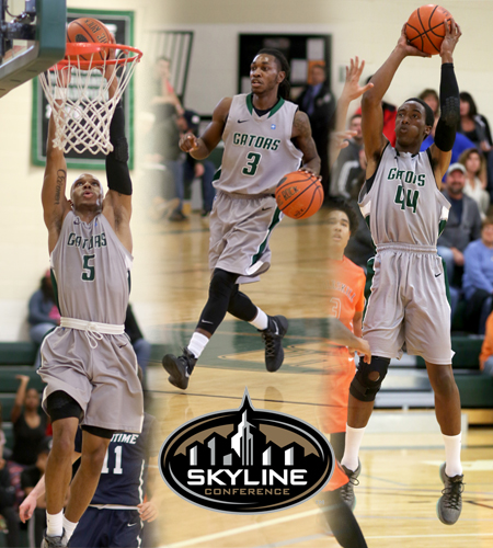 Ford, Gill, and Robinson honored by Skyline Conference