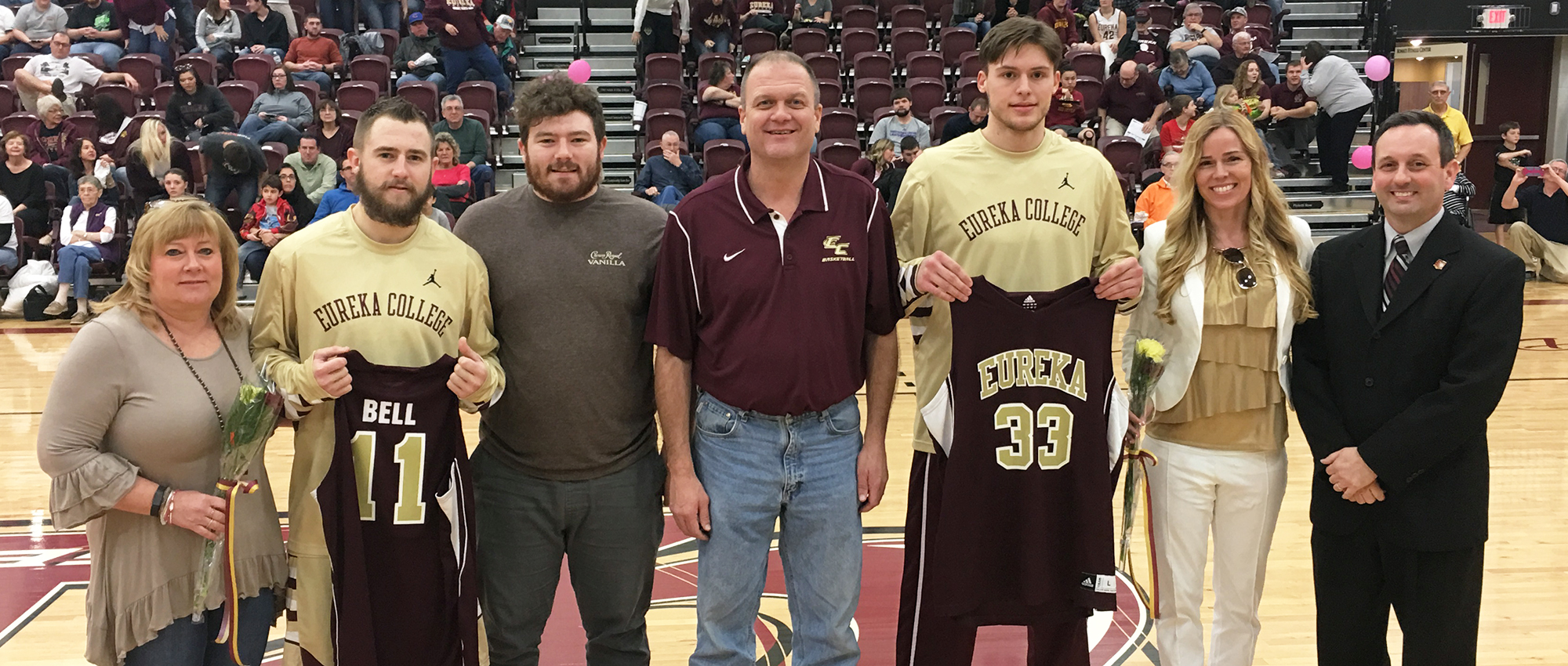 Eureka Rally Falls Short on Senior Day, 84-82