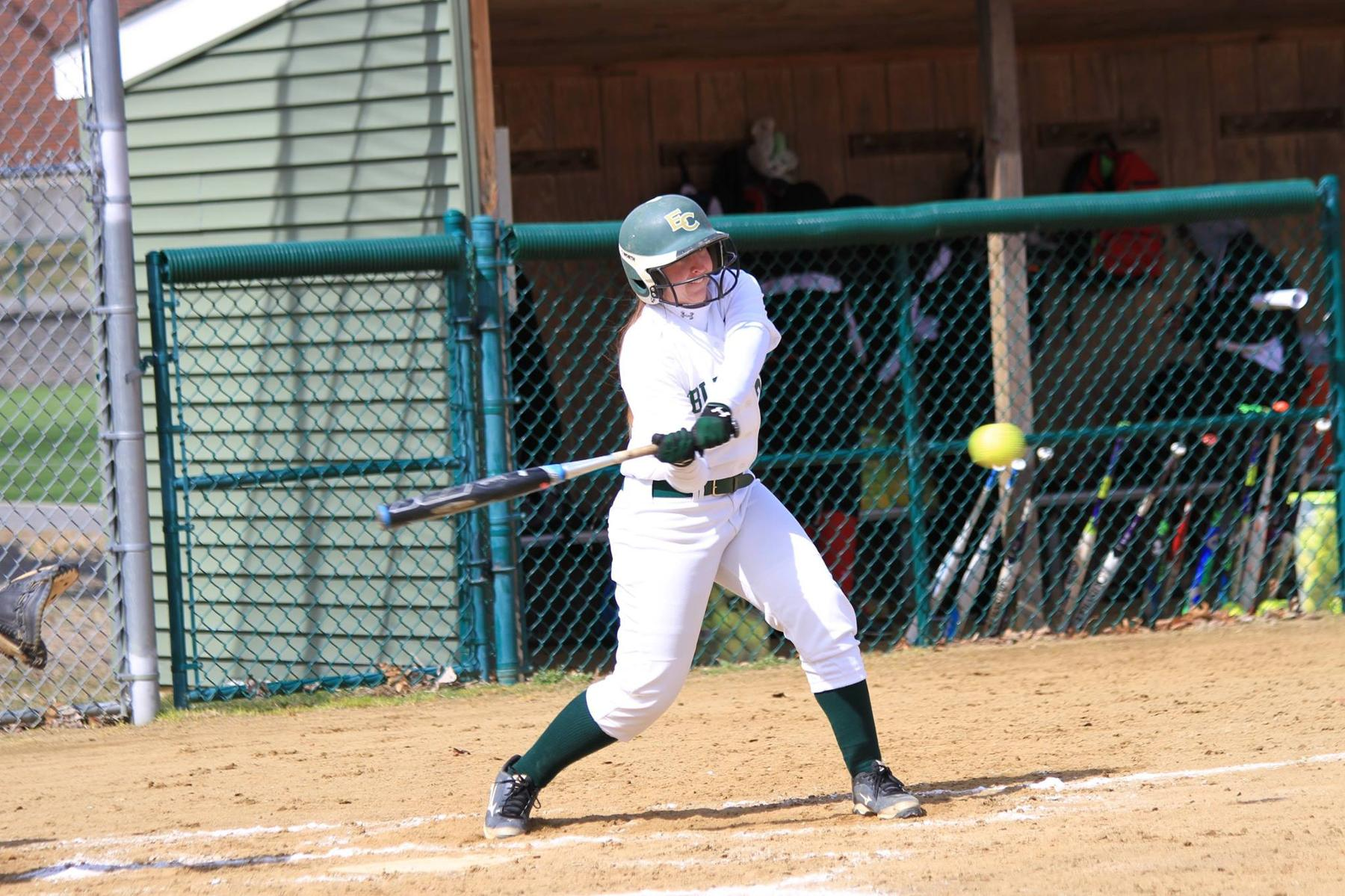 Softball Sweeps Southern Vermont