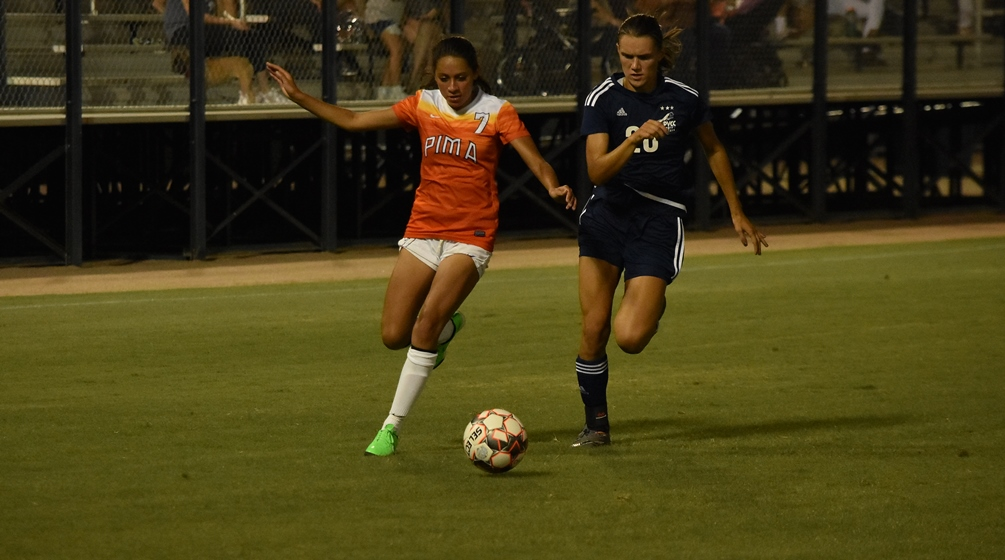Ruedaflores scores late as Aztecs women's soccer shuts out South Mountain CC