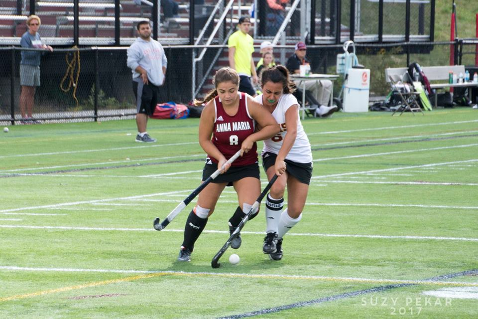 FIELD HOCKEY: Anna Maria edges Elms, 3-2