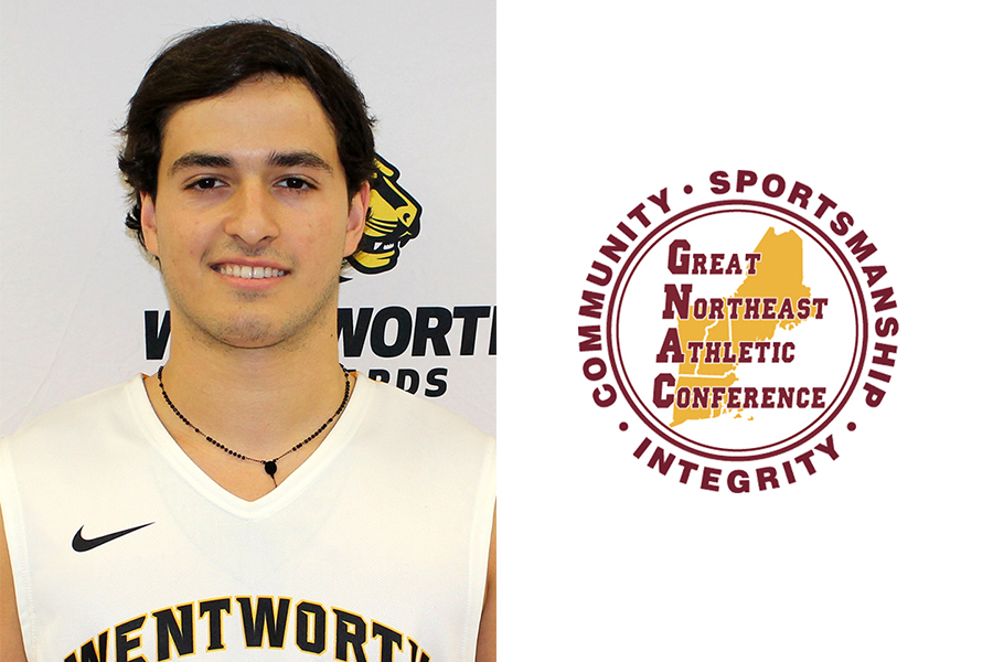 Rodriguez-Guerrios Named GNAC Rookie of the Week